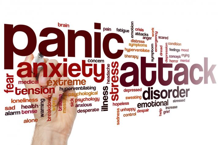 Anxiety, Depression & Panic Attacks.